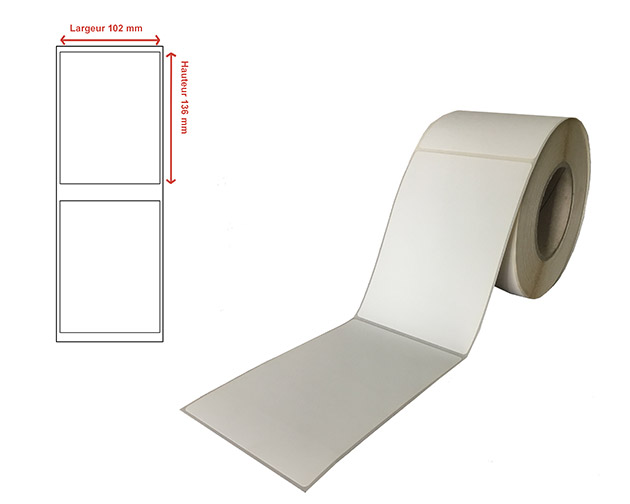 Etiquettes transfert thermique - Ref 13167