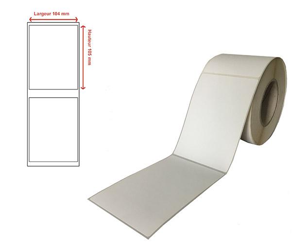 Etiquettes transfert thermique - Ref 13204