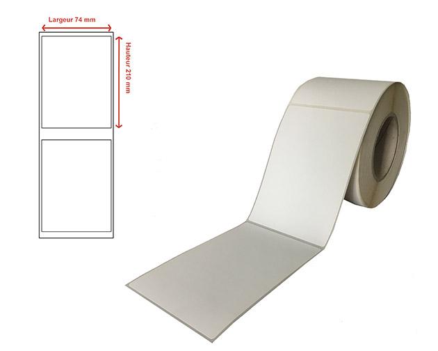 Etiquettes transfert thermique - Ref 13387