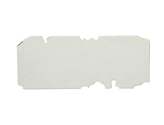 Etiquettes adhésives destructibles blanches
