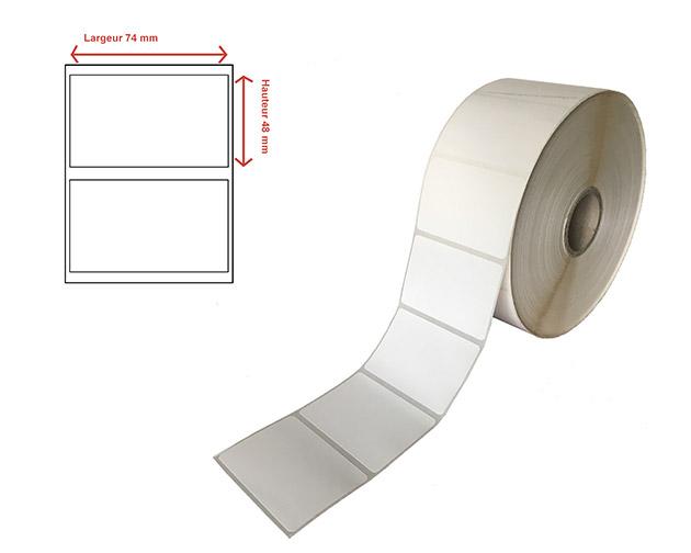Etiquettes thermique direct protégé - Ref 23117