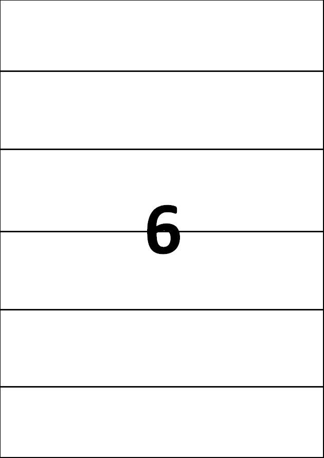 6 etiquettes blanches par A4 - Ref 259
